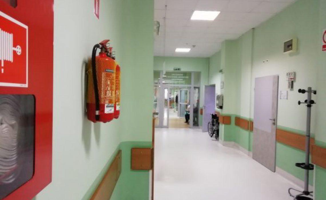Agresywny pacjent na oddziale
